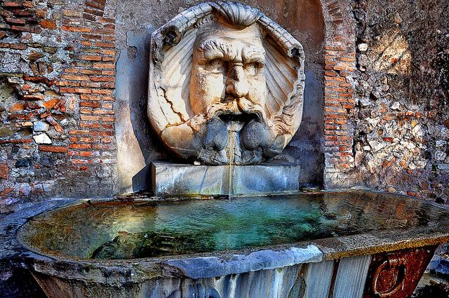 Aventino - Fontana del Mascherone