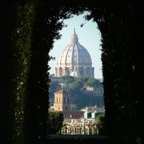 S. Pietro visto dell'Aventino