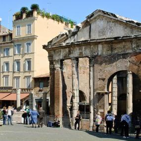 Ghetto ebraico - Portico d'Ottavia