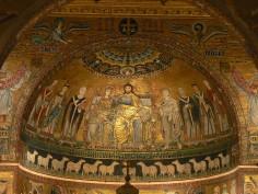 Catino absidale di Santa Maria in Trastevere
